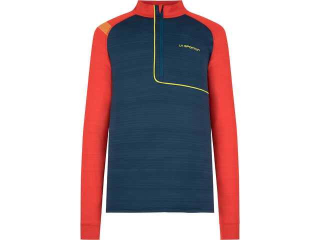 La Sportiva Planet Long Sleeve Shirt Men opal/poppy